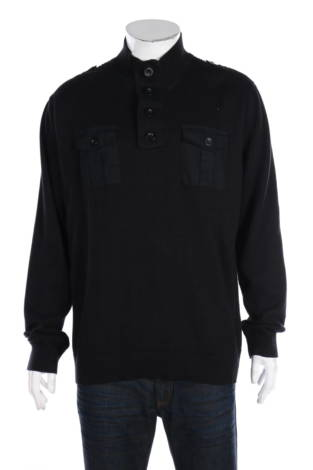 Пуловер с поло яка I.n.c - International Concepts