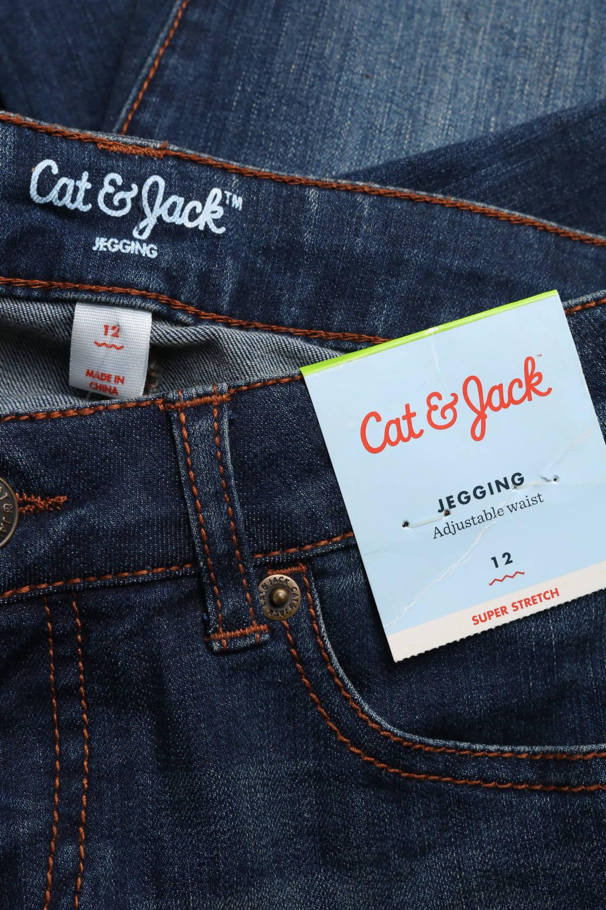 Детски дънки Cat & Jack3