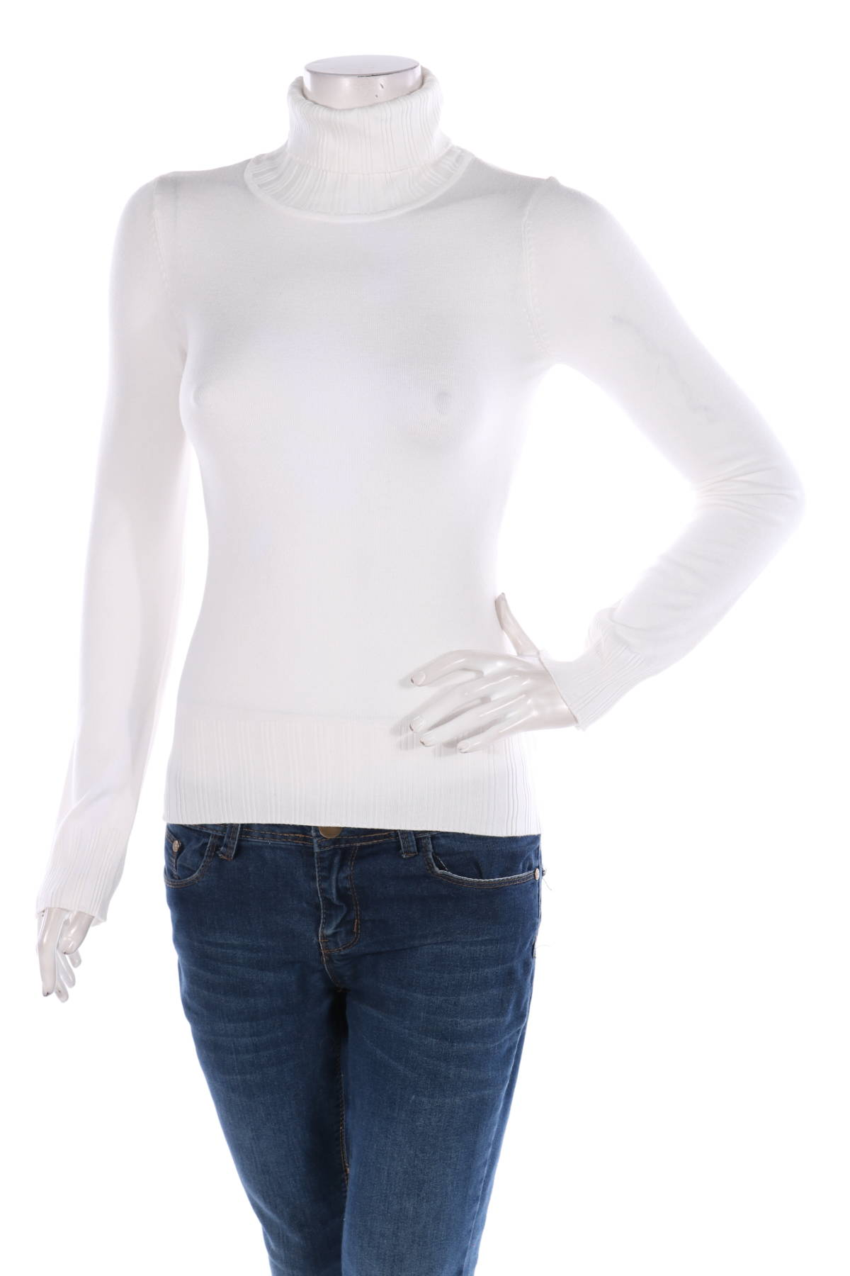 Пуловер с поло яка Bcbg Max Azria1