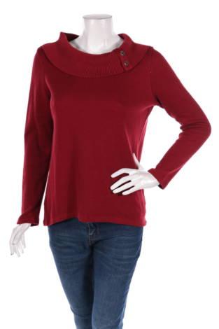 Пуловер с поло яка Rebecca Malone