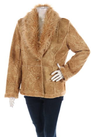 Палто с косъм Esprit
