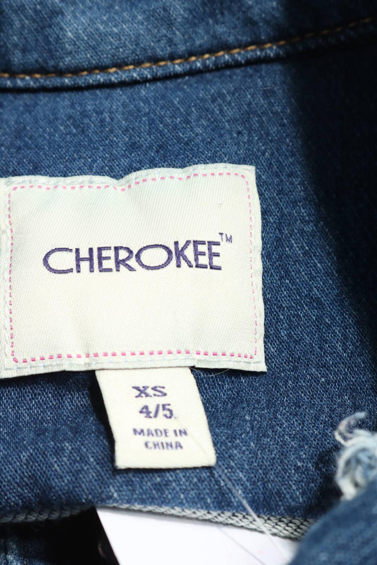 Детско дънково яке Cherokee3