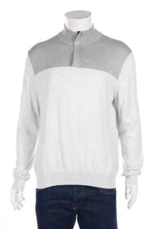 Пуловер с поло яка Perry Ellis