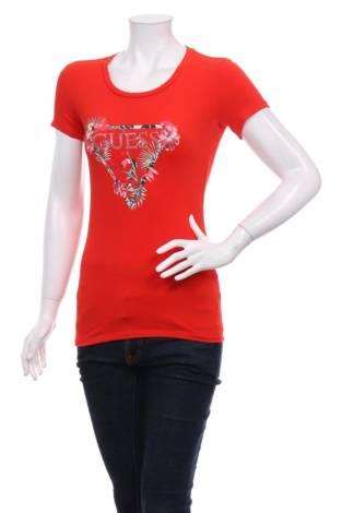 Тениска с щампа GUESS