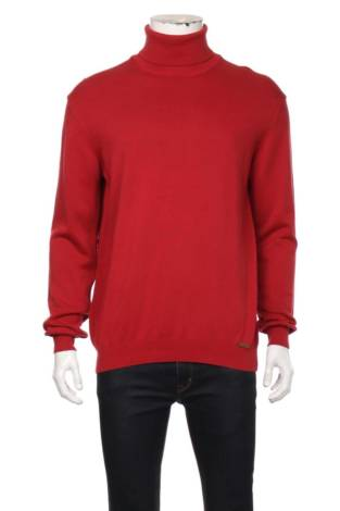 Пуловер с поло яка JIMMY SANDERS
