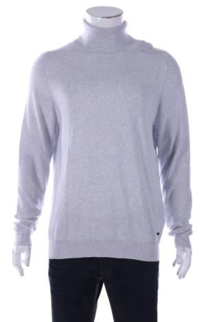 Пуловер с поло яка Hugo Boss