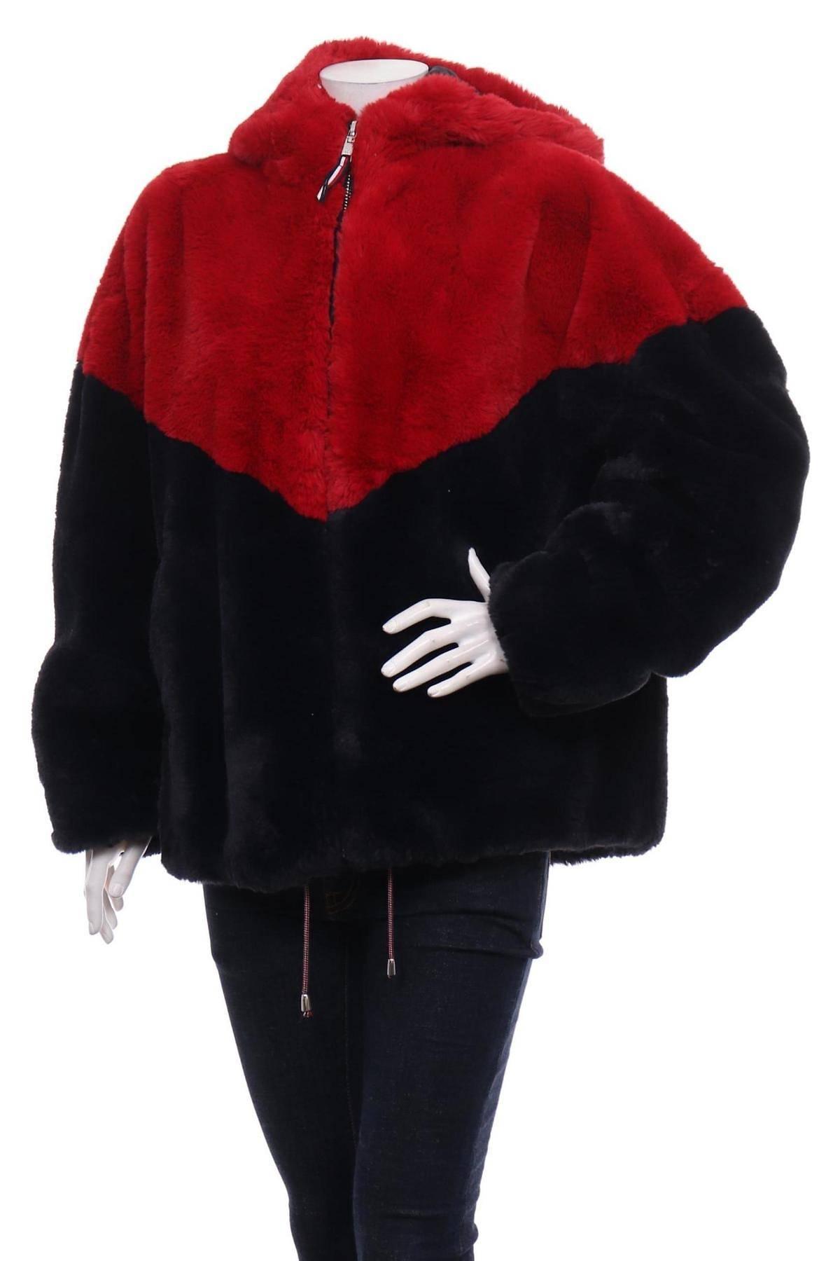 Палто с косъм TOMMY HILFIGER1