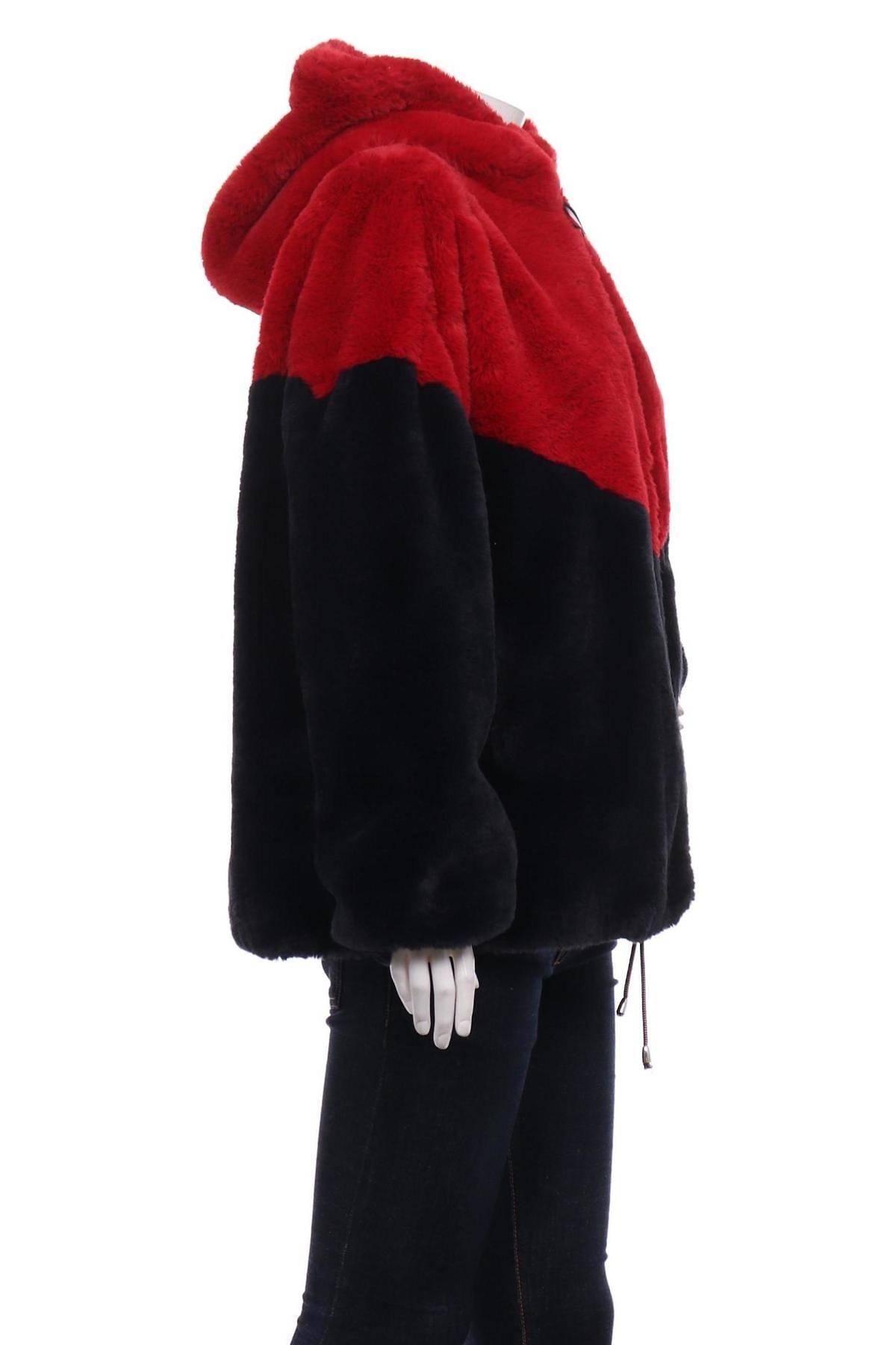 Палто с косъм TOMMY HILFIGER3