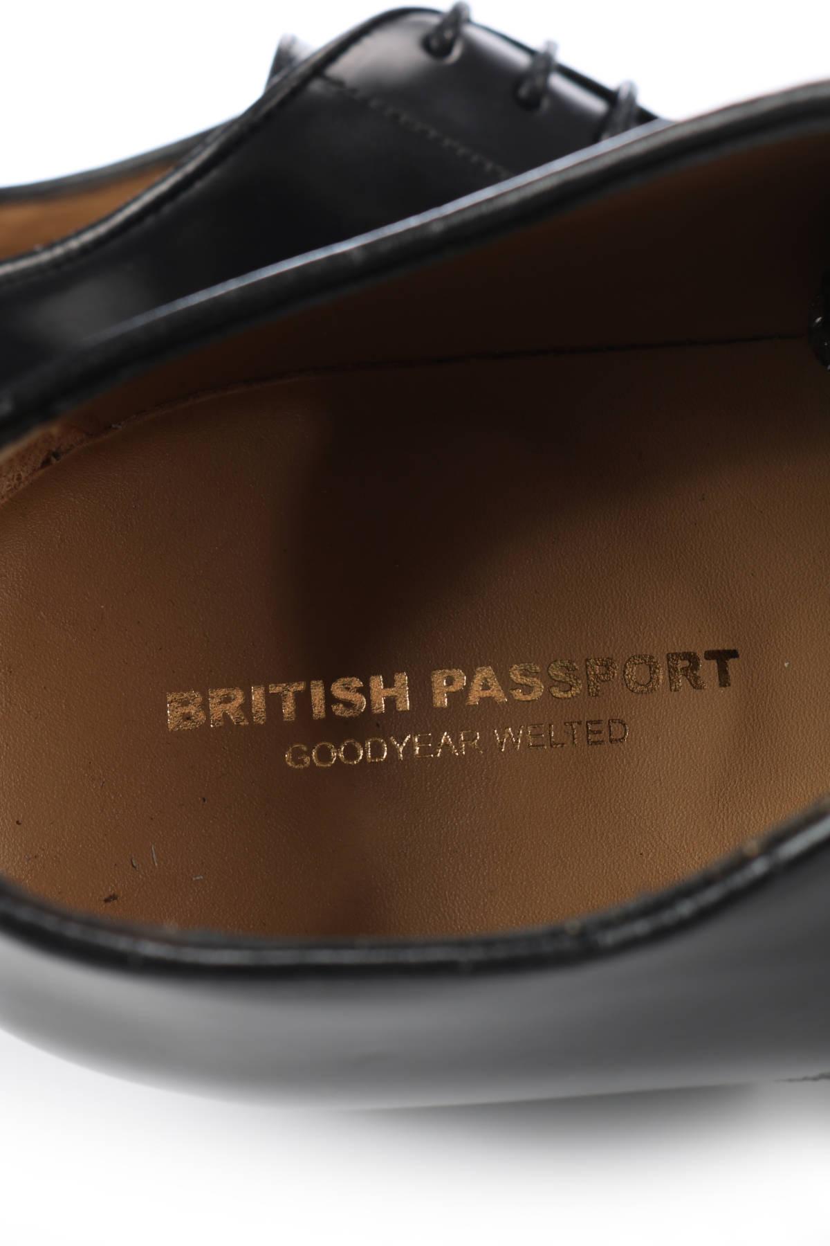 Елегантни обувки British Passport4