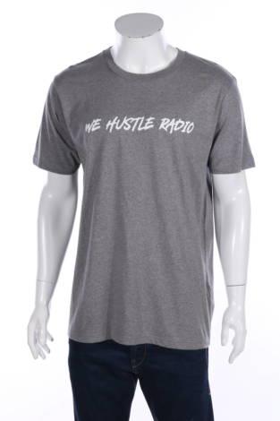Тениска с щампа Earth Positive