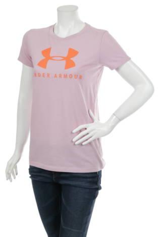 Тениска с щампа UNDER ARMOUR