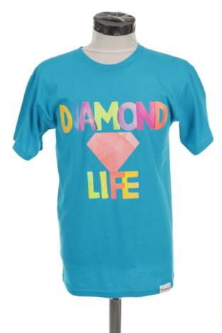 Тениска с щампа DIAMOND