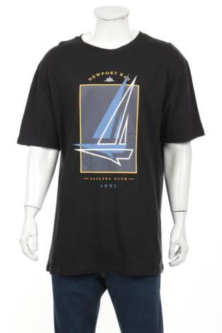 Тениска с щампа Newport Bay