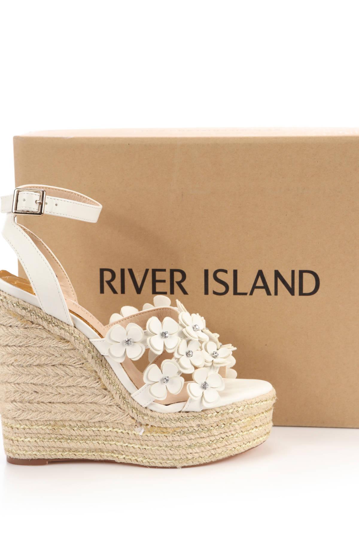 Сандали на ток RIVER ISLAND4