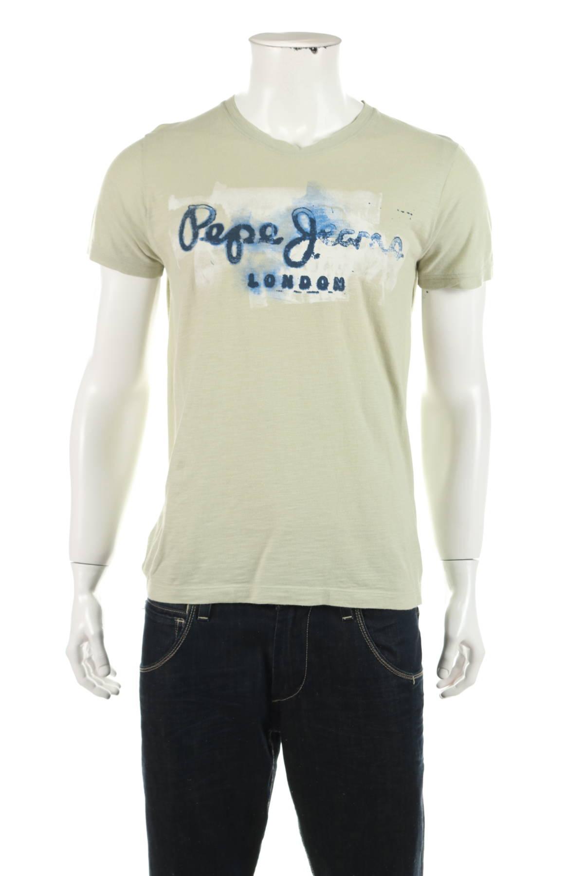 Тениска с щампа Pepe Jeans1