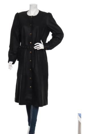 Кожено палто CULTURE