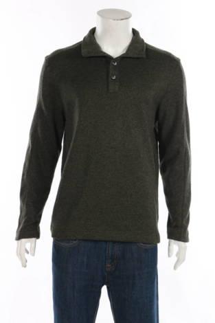 Пуловер с поло яка VAN HEUSEN