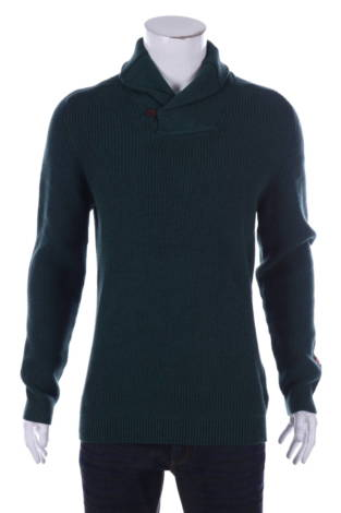 Пуловер с поло яка Jack&Jones